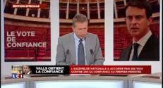 """Marine Le Pen : """"J'ai été frappée par la vacuité du discours de Manuel Valls"""""""