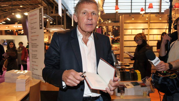 Patrick Poivre d'Arvor au Salon du livre de Paris, en 2010