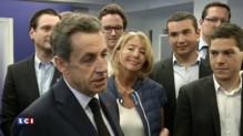"""Sarkozy prévient le PS : """"Que les socialistes ne s'inquiètent pas, je ne suis pas décidé à partir"""""""