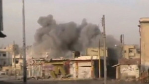 Syrie : bombardement sur Homs, 22/2/12