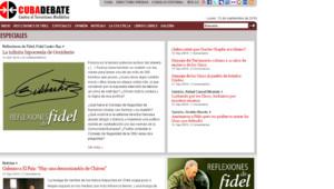 Tribune de Fidel Castro critiquant Nicolas Sarkozy, publiée par Cubadebate.cu le 13 septembre 2010