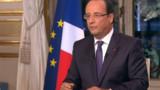 """Hollande sur TF1 : """"On est tout près d'inverser la courbe du chômage"""""""