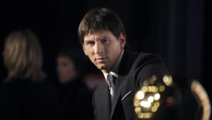 Lionel Messi a gagné le premier de ses quatre ballons d'or en 2009, à Paris.