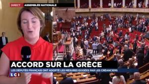 Accord Grèce-UE : l'Assemblée nationale approuve largement le plan de Bruxelles
