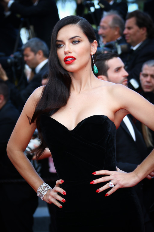 Adriana Lima Cannes mai 2015