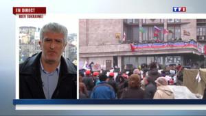 """Le 13 heures du 14 avril 2014 : Ukraine : """"La tension est palpable et perceptible"""" - 646.7829999999999"""