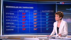 """Le 20 heures du 15 mai 2015 : Ecart de températures en France : """"Une situation paradoxale"""" - 322"""