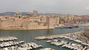Le port de Marseille lors de la journée Marius et Fanny