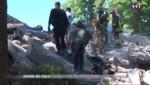 Séisme en Italie : les secours à pied d'œuvre au milieu des décombres à Amatrice