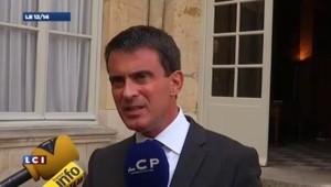 "Valls : ""Il y a un France bashing qui est insupportable"""