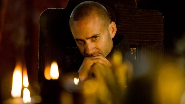 Camelot - Saison 1. Série créée par Morgan O'Sullivan, Michael Hirst en 2010. Avec : Jamie Campbell Bower, Eva Green, Tamsin Egerton et Joseph Fiennes.