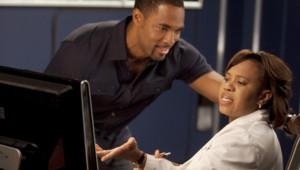Chandra Wilson et Jason George incarnent Miranda Bailey et Ben Warren dans Grey's Anatomy