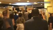 Elections US : huées et applaudissements pour la démissionnaire Debbie Wasserman Schultz