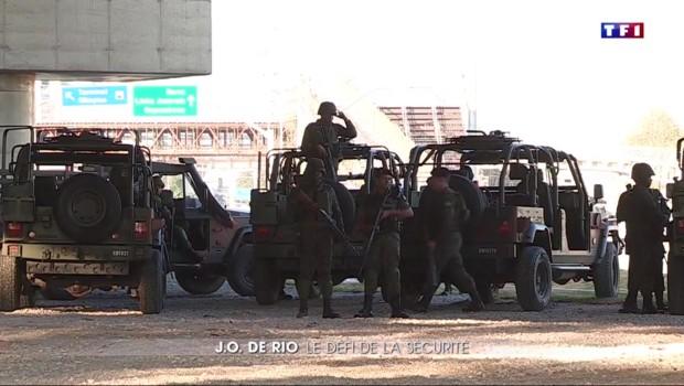 JO de Rio : sécurité renforcée à une semaine de l'ouverture
