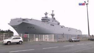Le 20 heures du 15 mai 2015 : Navires Mistral : les relations franco-russes empoisonnées - 386
