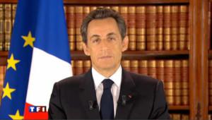 Nicolas Sarkozy, le 27 février 2011.
