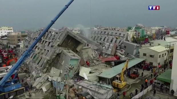 Un séisme fait trembler Taïwan et tue 14 personnes