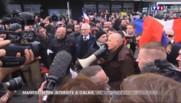Calais : une manifestation d'extrême-droite anti-migrant dispersée