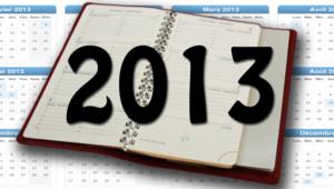 CALENDRIER 2013 POUR DIANE planning année