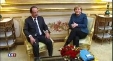 Crise de la Grèce : Hollande rencontre Merkel, un tête-à-tête pour trouver des solutions