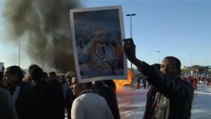 Des Libyens pro-Kadhafi, le 2 mars 2011.