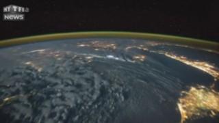 La foudre vue de l'espace : des images subjuguantes
