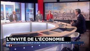 """JO 2024 ou Expo universelle 2025 : """"Difficile de soutenir les deux"""" pour le patron d'ExpoFrance"""