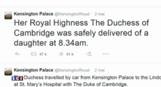Royal baby : Kate et William, adeptes de la communication 2.0