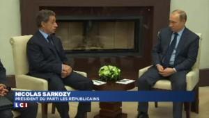 """Sarkozy à Poutine : """"Discuter, s'écouter et se respecter, la destinée de la Russie et de la France"""""""