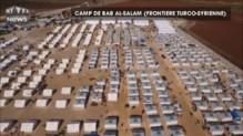 Un drone filme l'immensité d'un camp de réfugiés syriens à la frontière turque