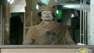 Allocution télévisée de Mouammar Kadhafi, 22 février 2011