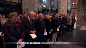 Attentats à Bruxelles : hommage interconfessionnel pour les victimes
