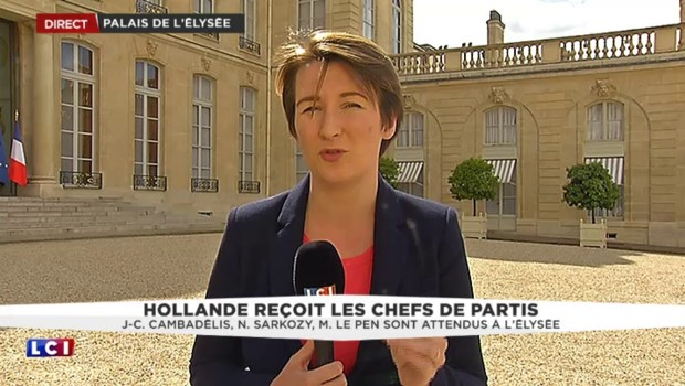 Invités à l'Élysée pour parler du Brexit, les chefs de partis anticipent la présidentielle