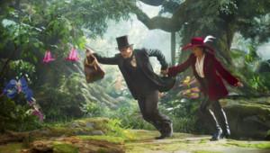 James Franco et Mila Kunis dans le film Le Monde fantastique d'Oz de Sam Raimi