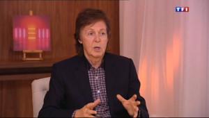 """Le 20 heures du 11 octobre 2013 : Paul McCartney sort un nouvel album : """"je vais toujours essayer de faire quelque chose de diff�nt"""" - 1782.0532003784185"""