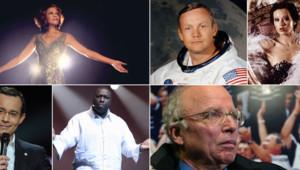 Photomontage les morts célèbres de l'année 2012