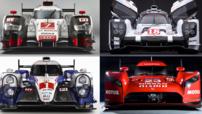 Porsche Audi Nissan Toyota Endurance 2015