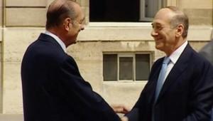 TF1/LCI Ehud Olmert Jacques Chirac Paris