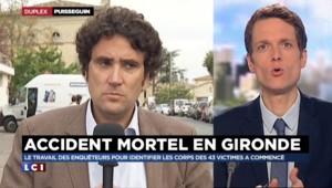 """Accident en Gironde : les élus de la région """"accompagnent"""", """"rassurent"""", et """"assurent"""""""
