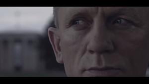 Capture d'écran d'une vidéo présentée comme le teaser du prochain James Bond.