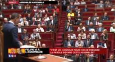 """Felipe VI à l'Assemblée nationale : """"Nous sommes unis par une riche et longue histoire"""""""