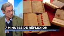 """Histoire :""""Les archives du Quai d'Orsay, c'est 110 kilomètres de rayonnage"""""""