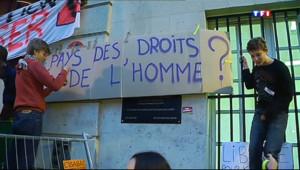 Le 13 heures du 18 octobre 2013 : Les lyc� dans la rue contre l%u2019expulsion - 506.5647908172607