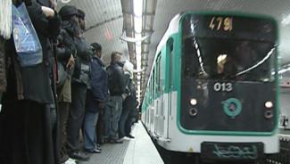 RATP métro transport quai