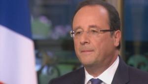 François Hollande interrogé sur TF1 le 15 septembre 2013