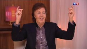 """Le 20 heures du 11 octobre 2013 : Paul McCartney sort un nouvel album : """"je vais toujours essayer de faire quelque chose de diff�nt"""" - 1788.4002003784185"""