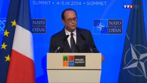 """Le 20 heures du 5 septembre 2014 : Hollande : """"La fonction pr�dentielle doit-�e respect� - 414.366"""