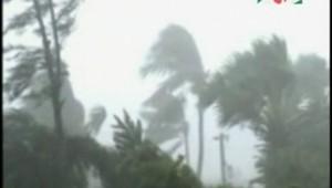 Le cyclone au Bangladesh, le 15 novembre 2007