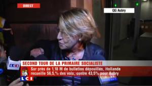 "Lebranchu : ""Martine Aubry a fait une bonne campagne"""