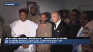 Libération otage le drian président niger